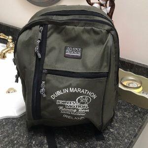 Dublin Marathon Jazzi Gear Backpack
